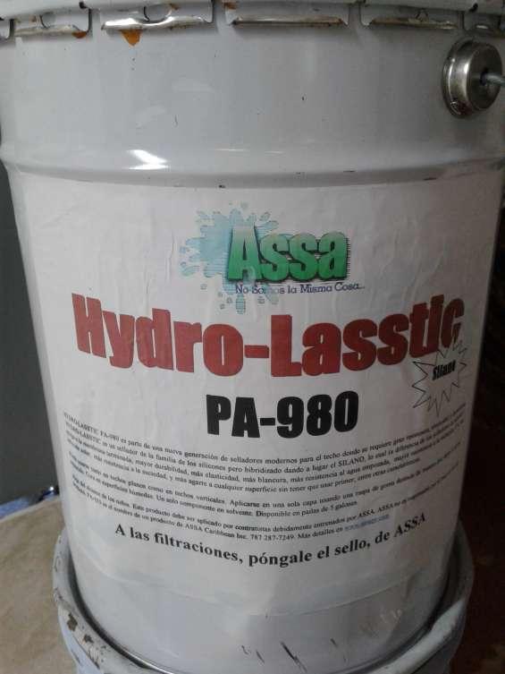 Sellador hydro-lasstic para sellado de techos